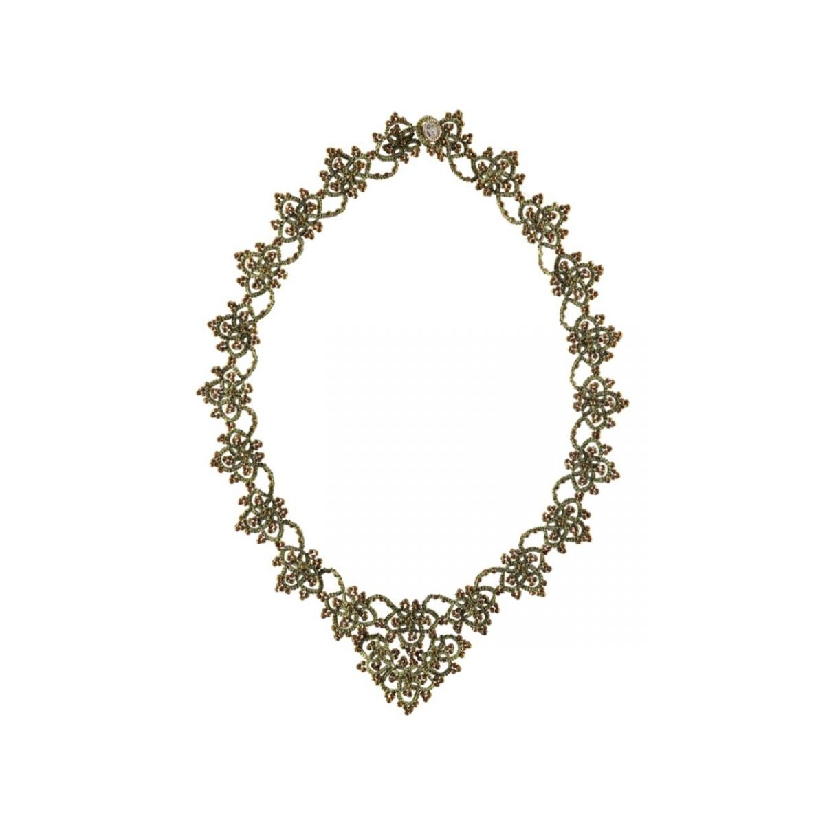 Audrey Silver Gold Necklace
